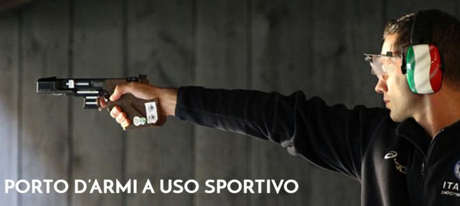 Porto d'armi a uso sportivo