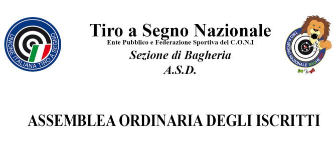 Assemblea ordinaria degli iscritti – Aprile 2017